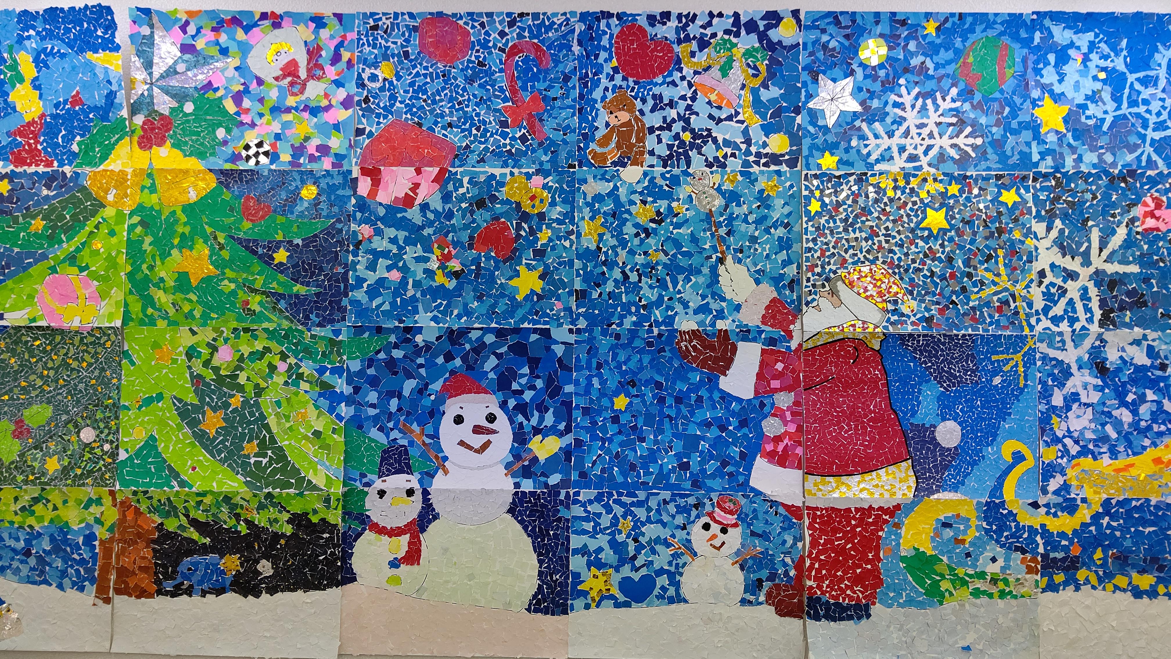 みんなに届け、ハッピークリスマス!